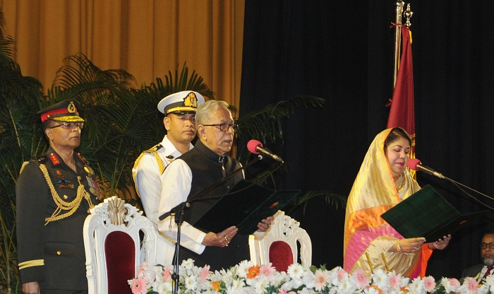President Abdul Hamid sworn in for second term