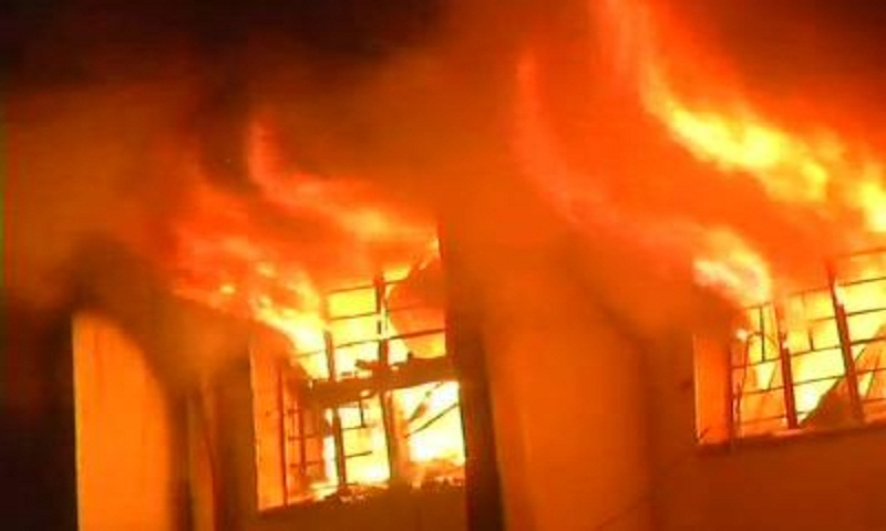 At least 18 dead in China karaoke lounge fire