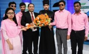 Now, Ananta Jalil stands by 5 vision-impaired students