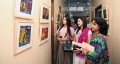 Tiger a centerpiece of Nazir's artworks