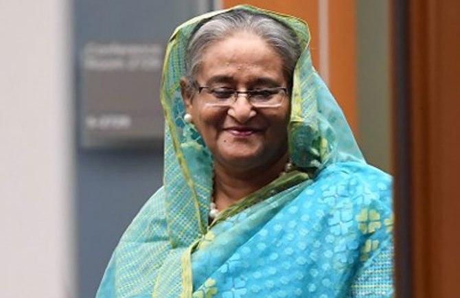PM Sheikh Hasina gets global women's leadership award