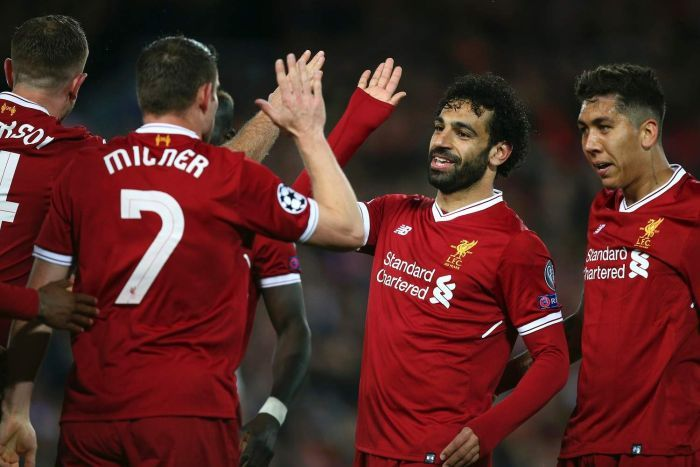 Mohamed Salah magic leads Liverpool to 5-2 win over Roma in Champions League semis