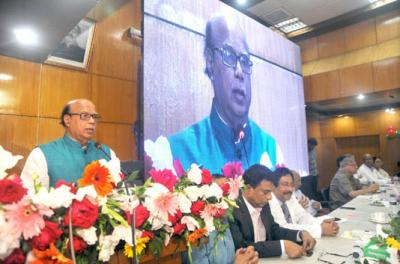 Nasim urges BNP not to do politics over Khaleda's treatment