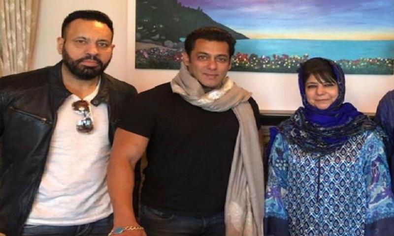 Salman Khan meets Jammu And Kashmir CM Mehbooba Mufti