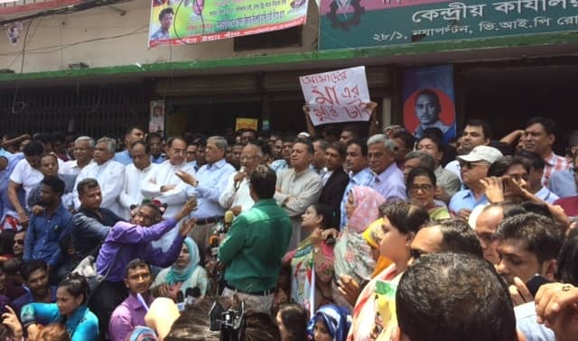 BNP's only goal to have Khaleda released: Fakhrul