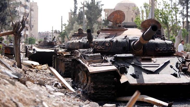 Syria regime retakes new region near Damascus: state media