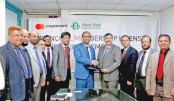 IBBL signs deal with Mastercard