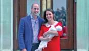 Kate gives birth to 3rd British royal baby