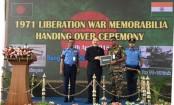 India gifts 1971 War of Independence memorabilia to Bangladesh