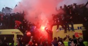 Liverpool fan fighting for his life after assault by Roma fans