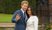 Meghan Markle ties the knot -- but not with Prince Harry