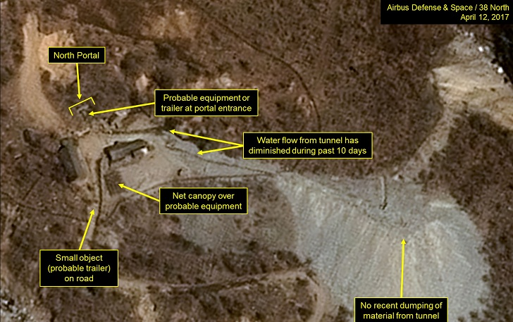 North Korea nuclear test site part-collapsed: Chinese experts