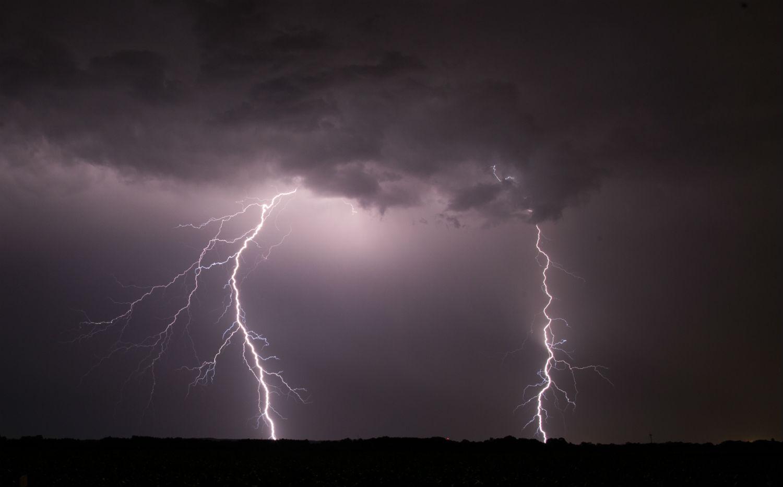 Lightning kills 4 in 3 districts