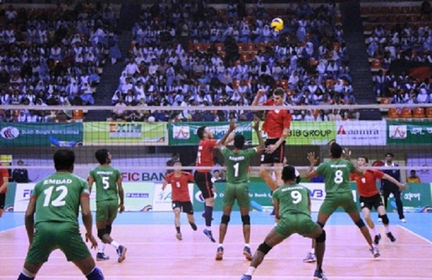 Bangladesh to face Turkmenistan in Asian Volleyball final