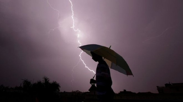 India state records 36,749 lightning strikes in 13 hours