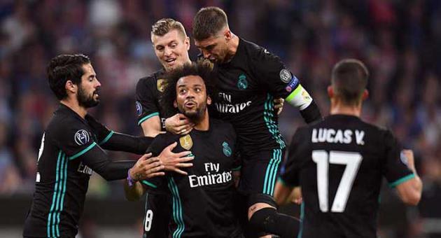 Madrid beats Bayern 2-1 away to take control of semifinal