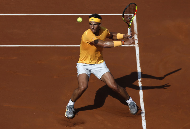 Nadal cruises into Barcelona Open quarterfinals