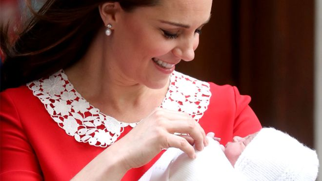 Royal baby name revealed as Prince Louis