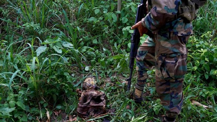 UN discovers five likely 'mass graves' in DR Congo
