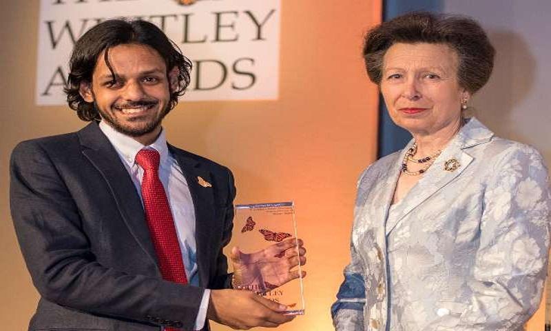 Bangladeshi wins award for Asia's largest tortoise conservation