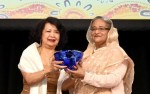 Prime Minister receives Global Women's Leadership Award