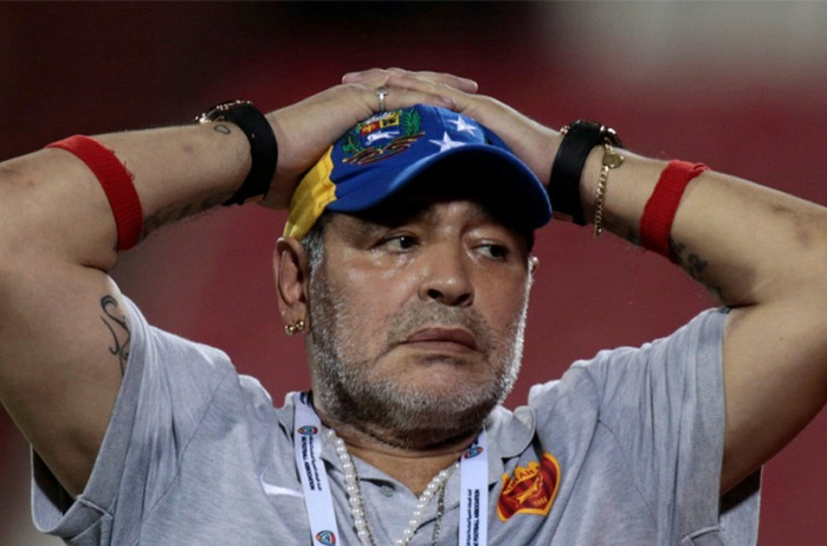 Maradona quits as coach of second division UAE team: lawyer