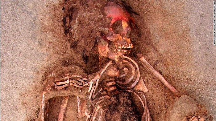 Largest child sacrifice in history discovered in Peru