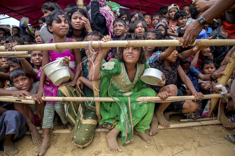 Rohingyas share tales of brutalities with UNSC team