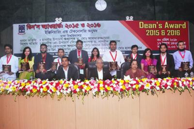 13  Dhaka University students get Dean's Award