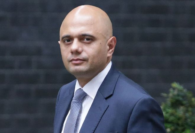 Sajid Javid to be new UK home secretary