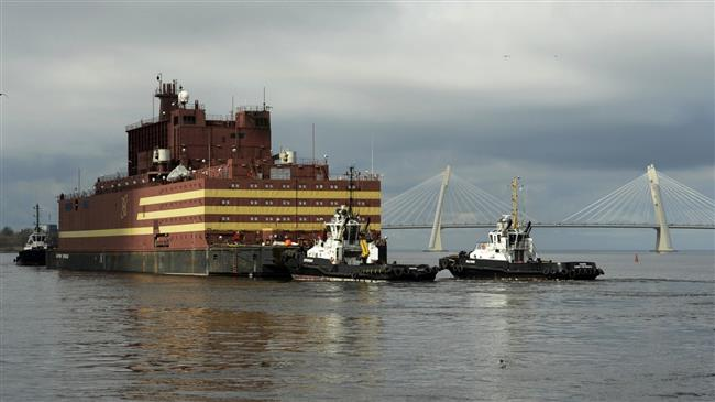 Russia launches world's first floating nuclear plant