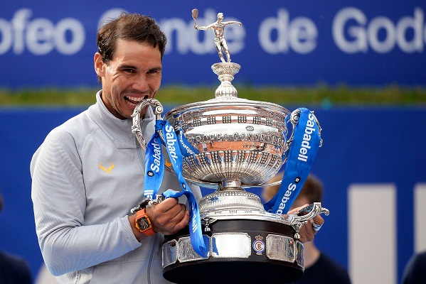 Nadal takes 11th Barcelona title