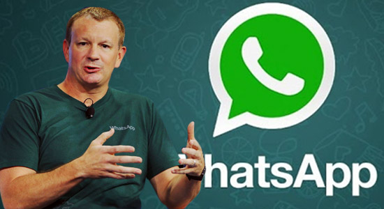 WhatsApp co-founder leaving Facebook