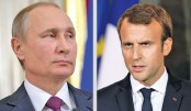 Putin, Macron urge 'strict' observance of Iran nuke deal