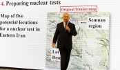 Israel has new 'proof' of Iran nuclear weapons programme