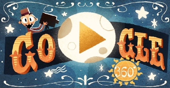 Google introduces first-ever VR/360-degree doodle