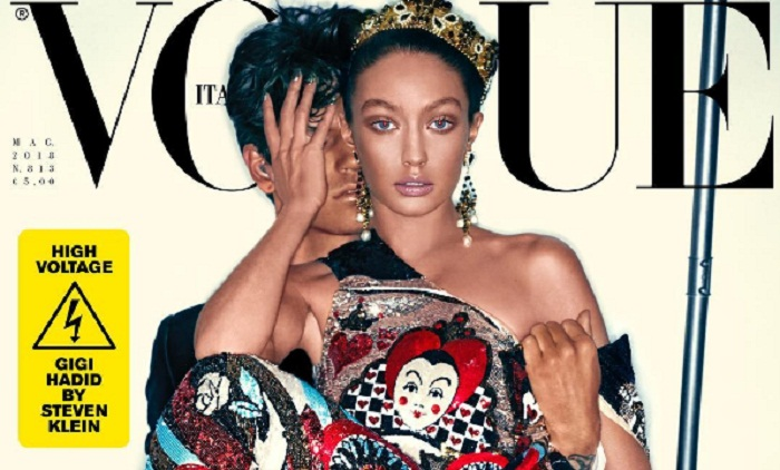 Gigi Hadid apologises for Vogue Italia 'blackface' cover