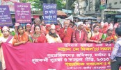 Domestic workers  form human chain   in capital