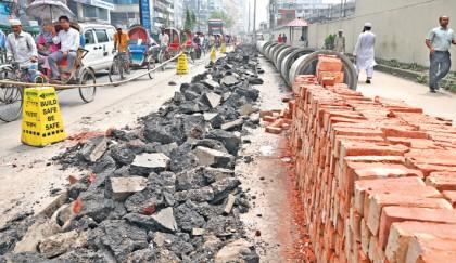 Dhaka traffic in a mess