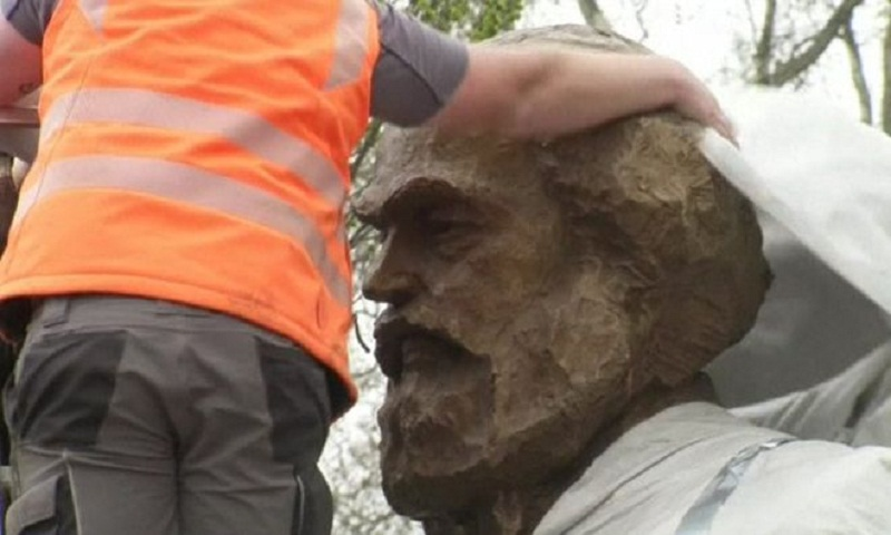 Karl Marx statue from China divides Germans on anniversary