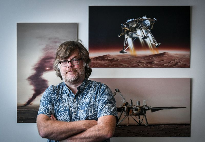 One scientist's 30-year quest to get under Mars' skin