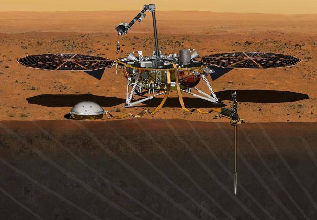 NASA counts down to liftoff of Mars lander, InSight