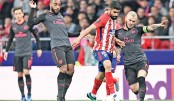 Atletico spoil Arsenal's Europa League dream