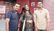 Rituparna, Shuvo in 'Sense of Humour' on ATN Bangla