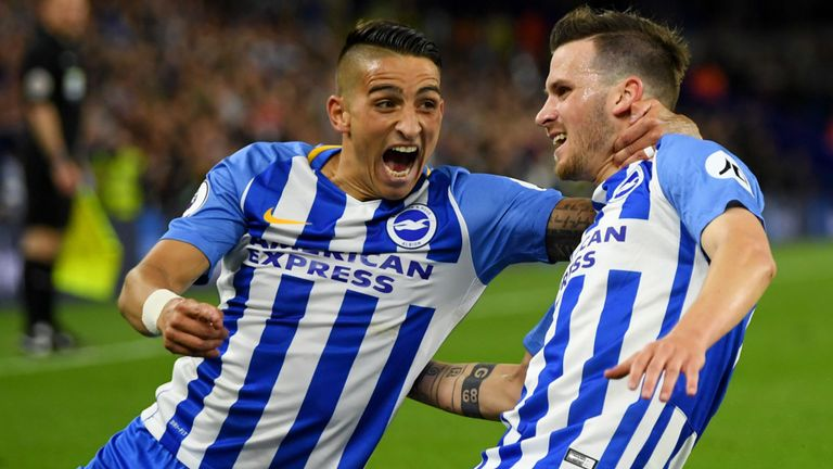Brighton beats Man United 1-0 to secure EPL safety