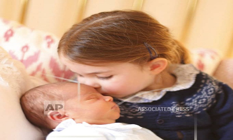 First days at home: William, Kate share Prince Louis photos