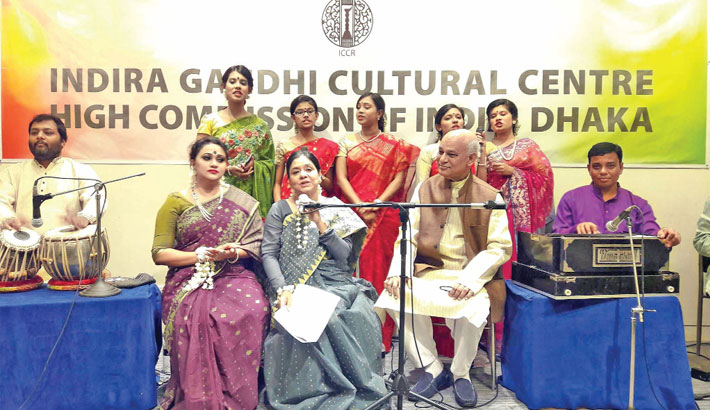 Selina Azad enthralls audience  at nat'l museum