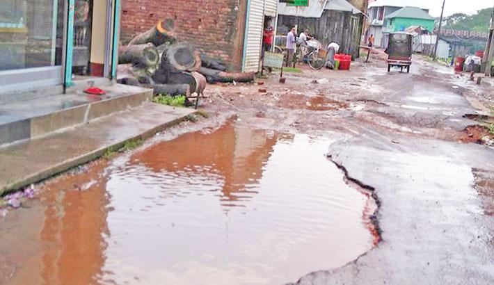 Muksudpur causing immense sufferings