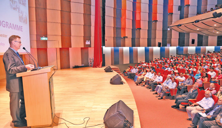 Summer Semester orientation held at IUB