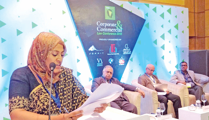 Confce on  corporate law held in city